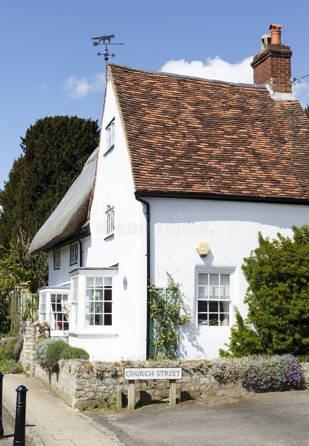 Traditioneel Engels Huis royalty-vrije stock fotografie