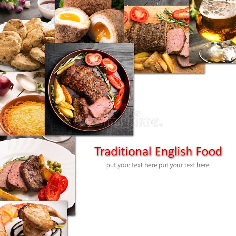 Traditioneel Engels Voedsel stock fotografie
