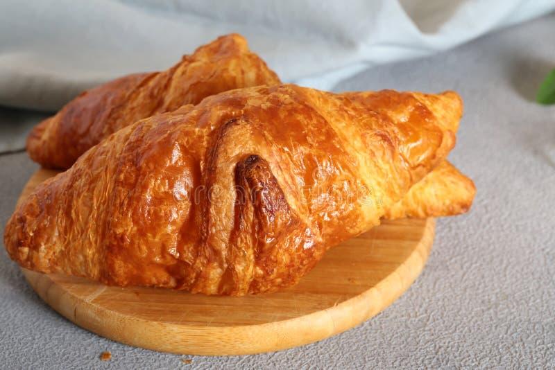 Traditioneel Frans Croissant royalty-vrije stock afbeelding