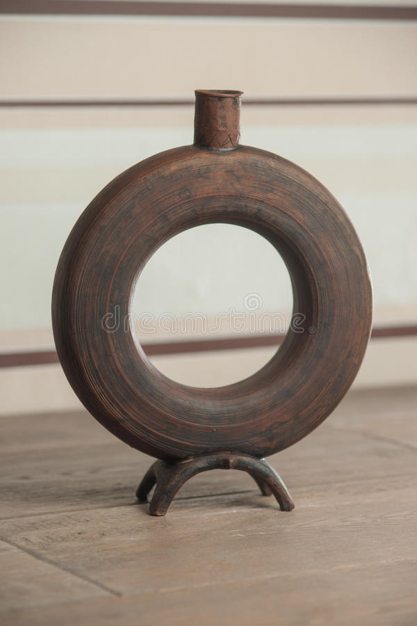 Traditioneel handcrafted vaas royalty-vrije stock afbeeldingen