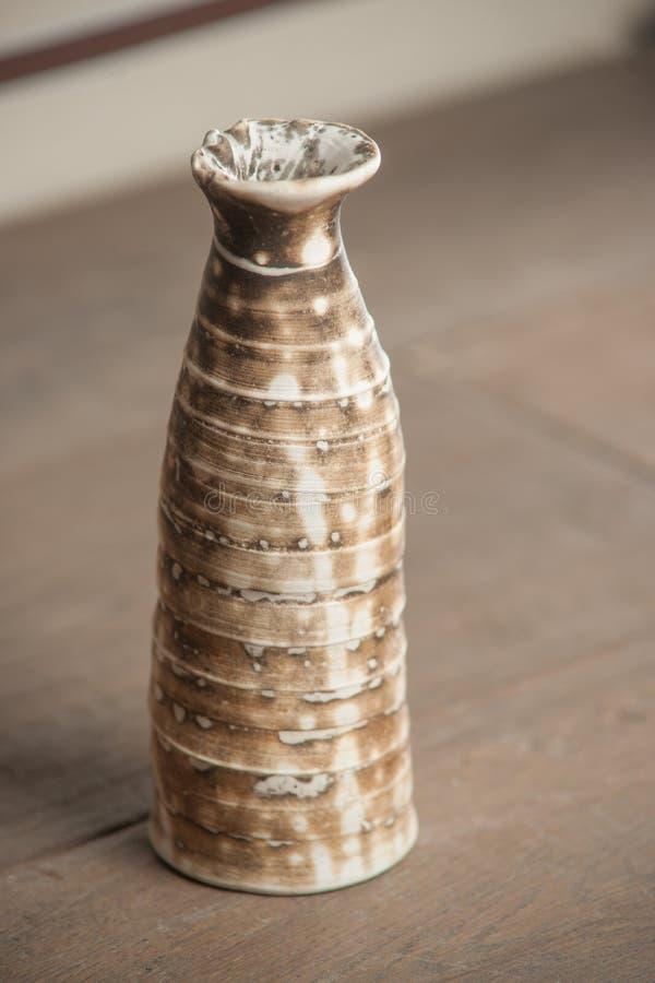 Traditioneel handcrafted vaas stock foto