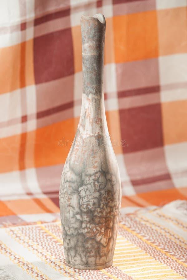 Traditioneel handcrafted vaas stock afbeelding