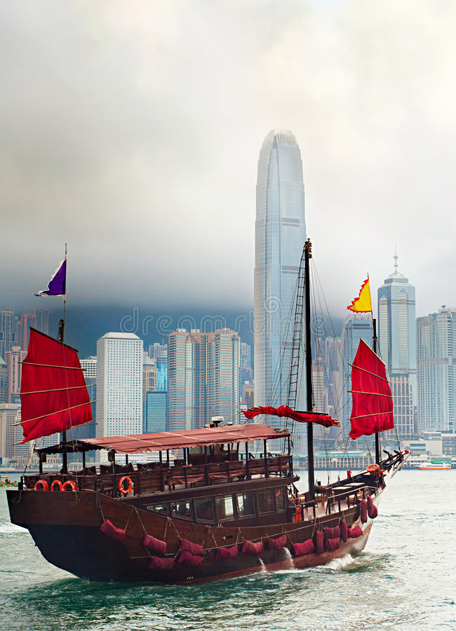 Traditioneel Hong Kong stock fotografie
