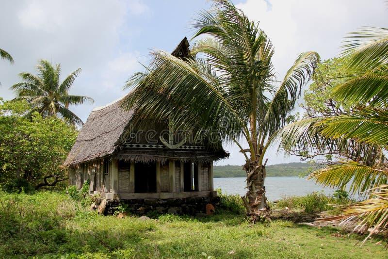 Traditioneel huis royalty-vrije stock afbeeldingen
