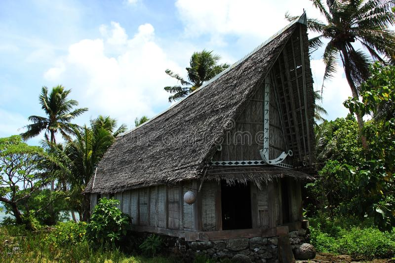 Traditioneel huis royalty-vrije stock fotografie