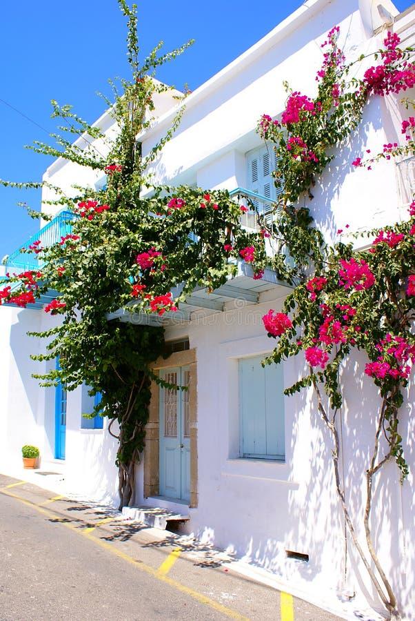 Traditioneel huis in Kythera eiland, Griekenland royalty-vrije stock foto's