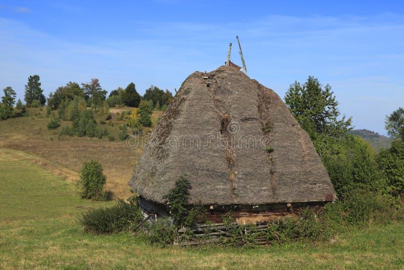 Traditioneel Huis Transylvanian Stock Fotografie