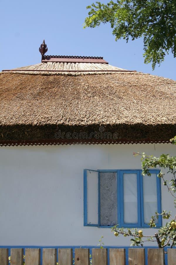 Traditioneel huis van de Delta van Donau royalty-vrije stock afbeelding