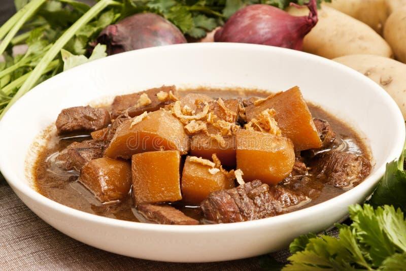 Traditioneel Indonesisch voedsel, Semur ayam stock fotografie