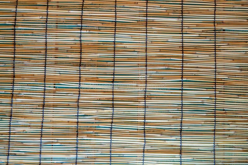 Traditioneel Japans natuurlijk bamboe stock foto