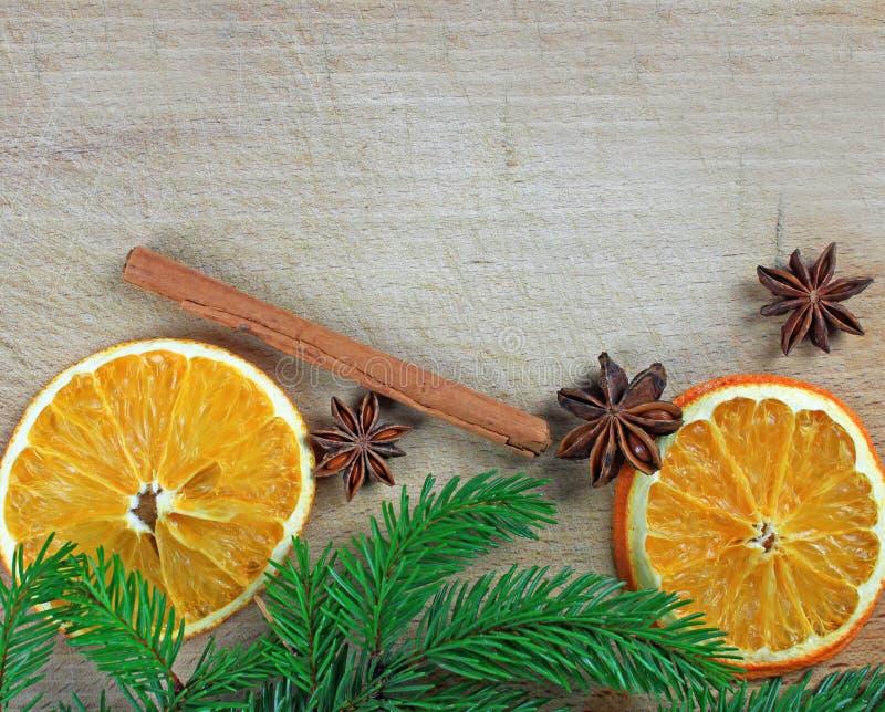 Traditioneel Kerstmiskader royalty-vrije stock afbeelding