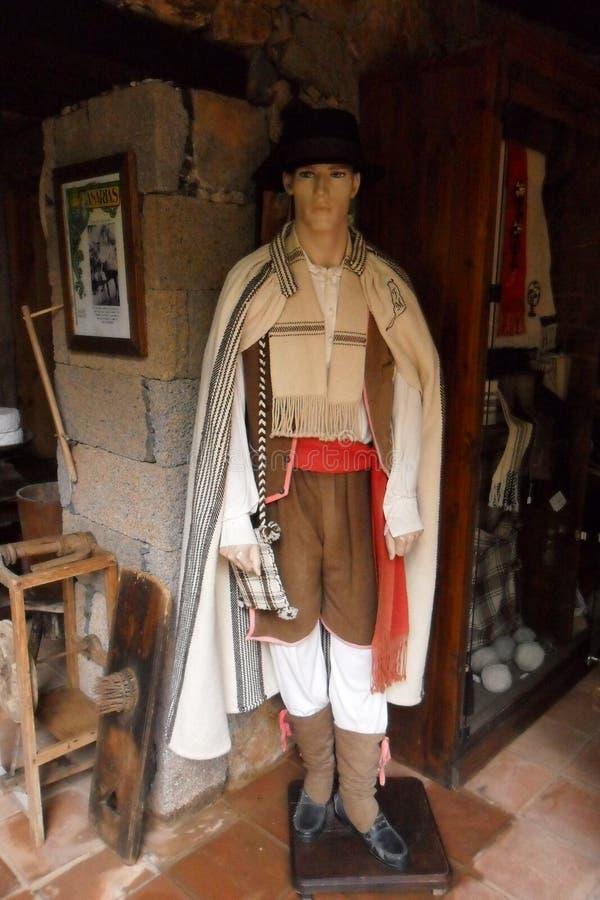 Traditioneel Kostuum van de Canarische Eilanden royalty-vrije stock foto's