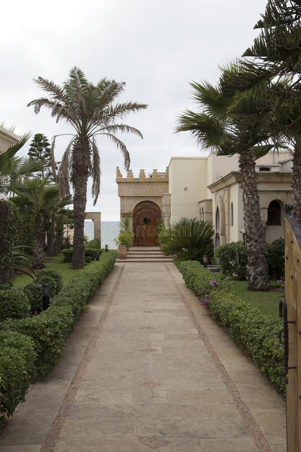 Traditioneel marokkaans huis stock afbeelding afbeelding 43786307 - Huis ingang ...