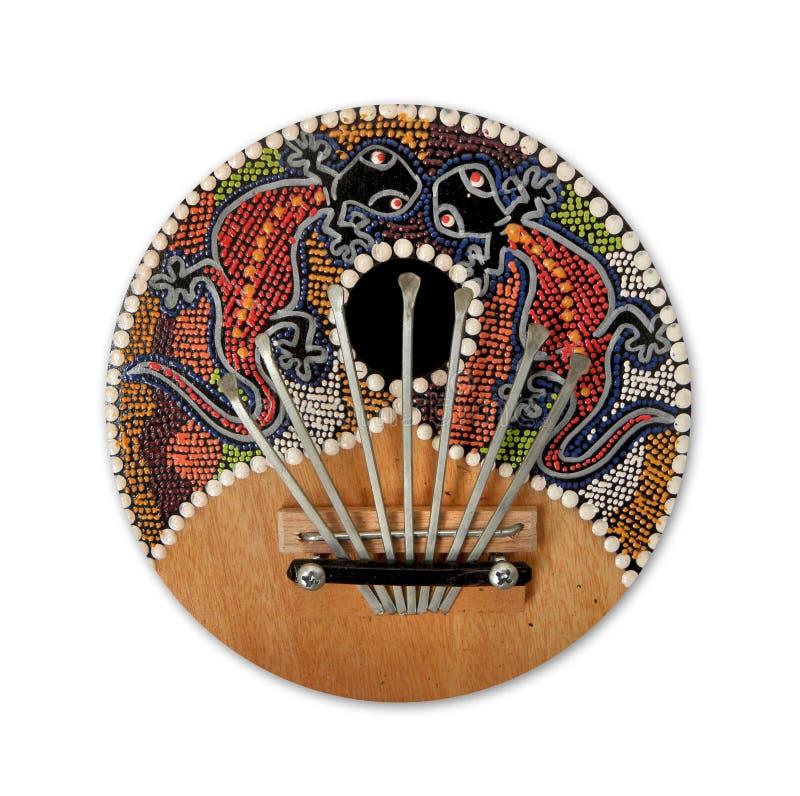 Traditioneel muzikaal instrument stock afbeelding