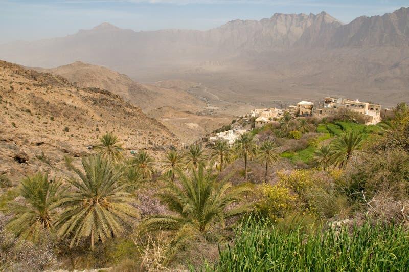 Traditioneel Omani Landbouwbedrijf stock afbeeldingen
