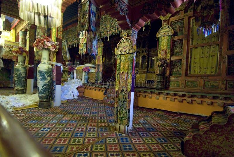 Traditioneel Paleis Potala stock foto's
