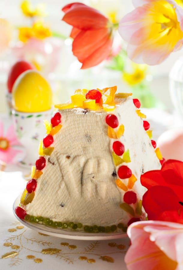 Traditioneel Pasen-dessert stock foto's