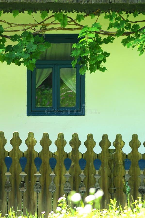 Traditioneel Roemeens huis royalty-vrije stock foto's