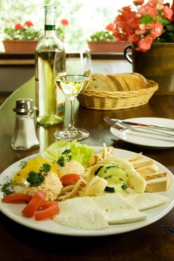 Traditioneel Slowaaks Restaurant royalty-vrije stock fotografie