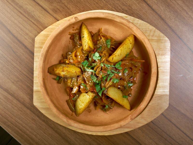 Traditioneel Tatar voedsel stock afbeeldingen