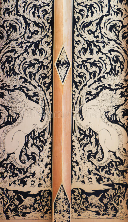 Download Traditioneel Thais art. stock foto. Afbeelding bestaande uit antiquiteit - 39117330