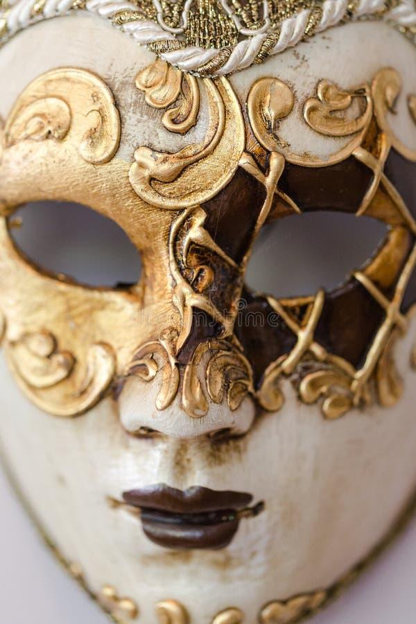 Traditioneel Venetiaans masker royalty-vrije stock afbeelding