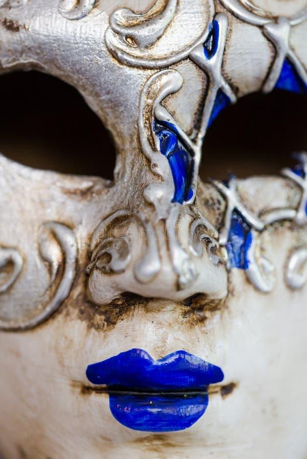 Traditioneel Venetiaans masker stock afbeeldingen