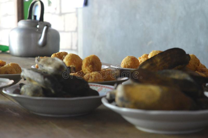 Traditioneel voedsel royalty-vrije stock foto