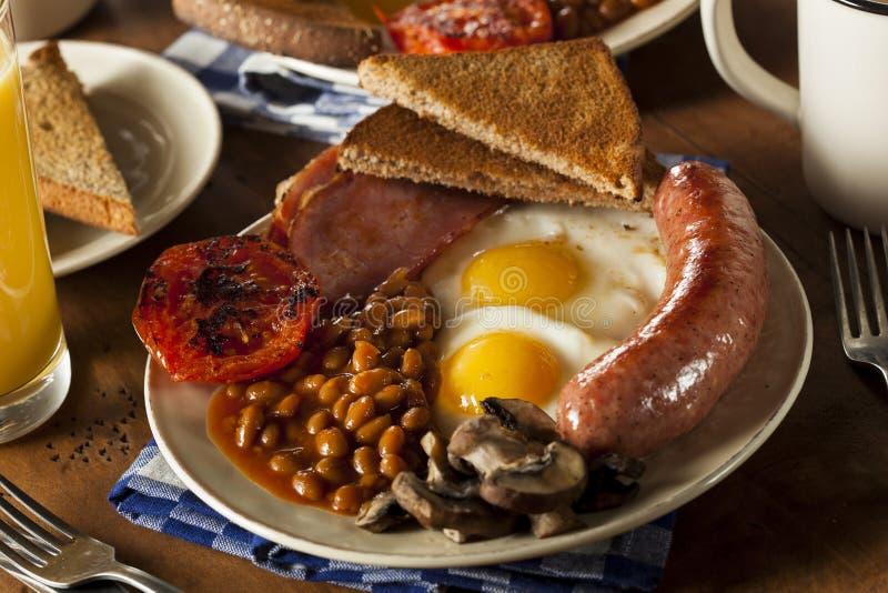 Traditioneel Volledig Engels Ontbijt royalty-vrije stock foto's