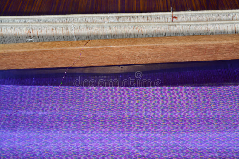 Traditioneel weefgetouw stock foto's
