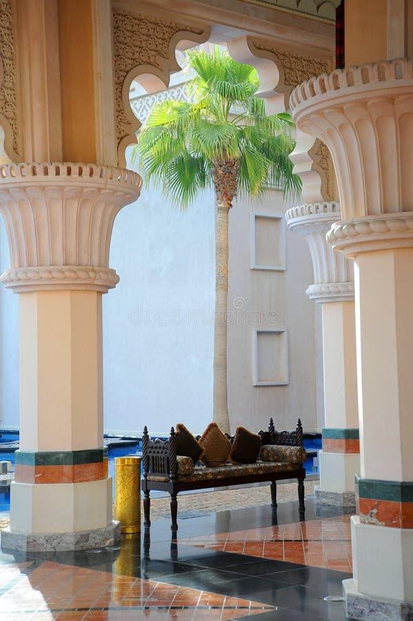 Traditionele Arabische architectuur royalty-vrije stock afbeeldingen