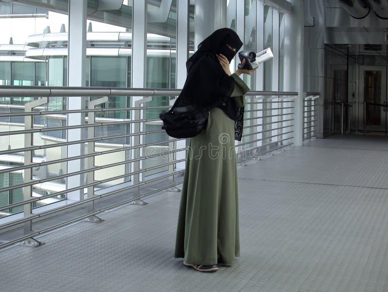 Traditionele Arabische vrouw stock foto