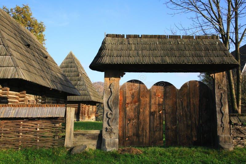 Traditionele architectuur royalty-vrije stock afbeelding