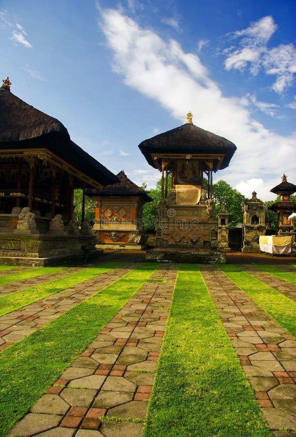 Traditionele architectuur van Bali stock foto's