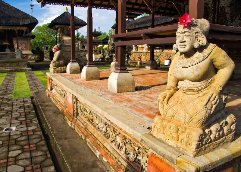Traditionele architectuur van Bali stock afbeeldingen
