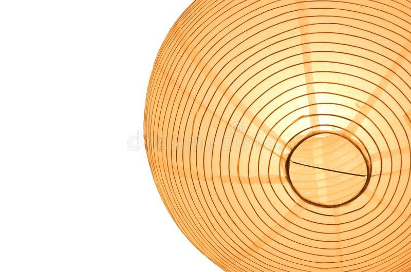 Traditionele Aziatische lamp stock foto