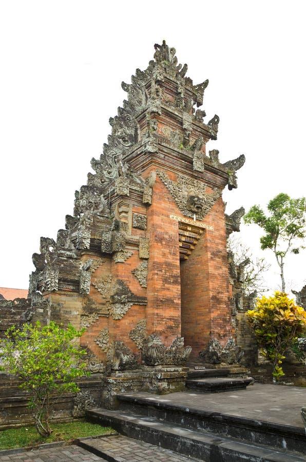Traditionele Balinese tempel royalty-vrije stock afbeelding
