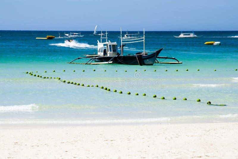 Traditionele Boot - Gili Islands - Indonesië stock fotografie