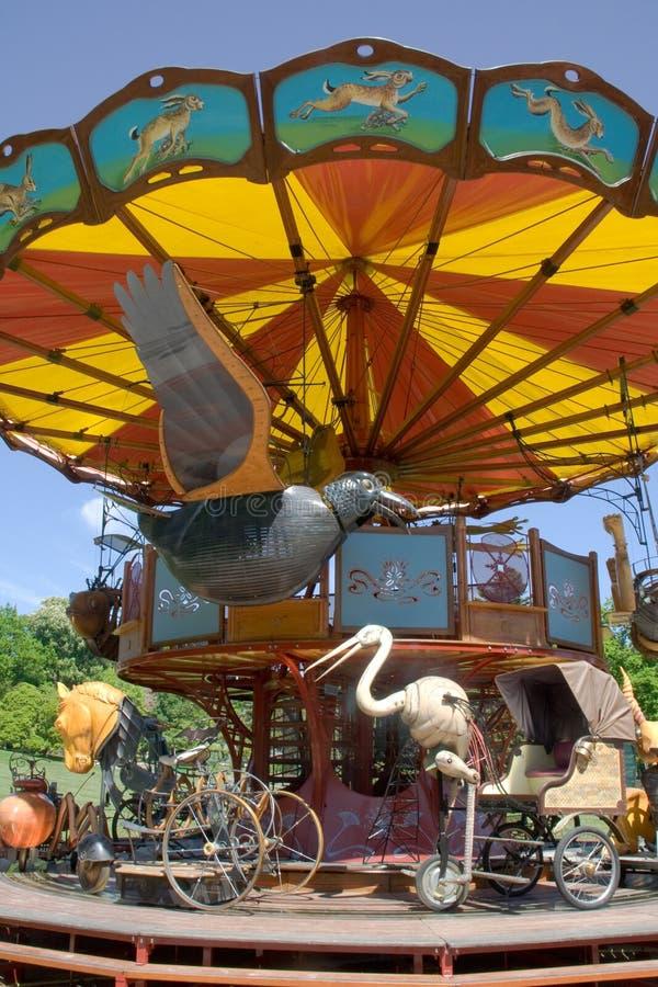 Traditionele carrousel stock foto