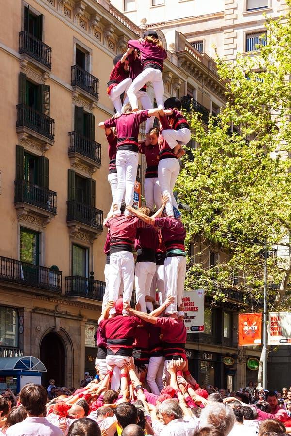 Traditionele Catalaans toont stock afbeelding
