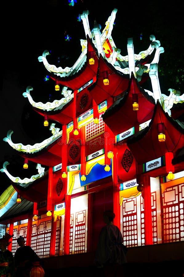 Chinese lantaarns royalty-vrije stock foto
