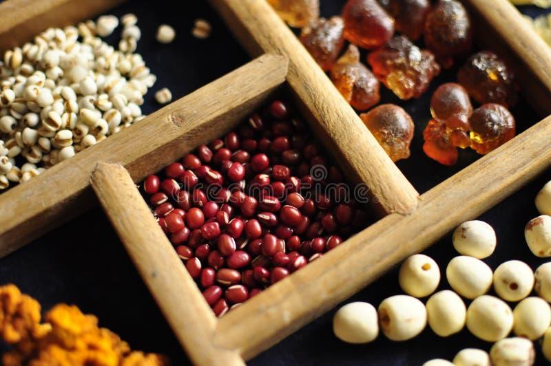 Traditionele Chinese voedseldozen stock afbeelding