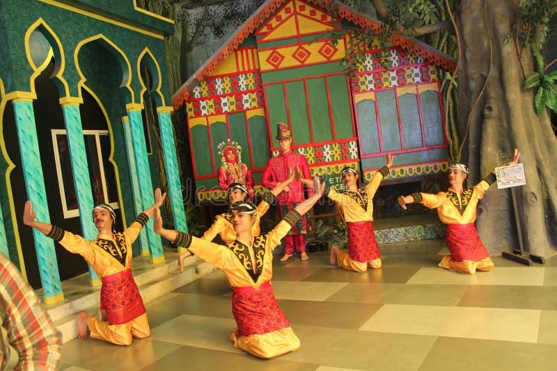 Traditionele Dans van Indonesië royalty-vrije stock afbeelding