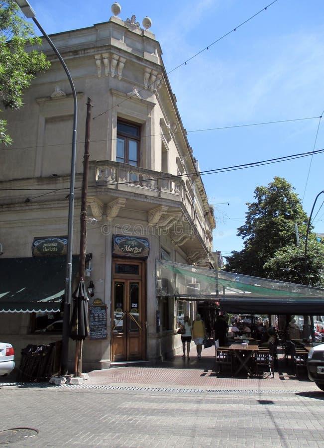 Traditionele de tangobuurt Buenos aires Argentinië van Café Margot Avenida Boedo royalty-vrije stock afbeelding