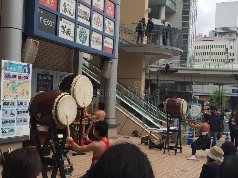 Traditionele gebeurtenis in Japan stock foto's