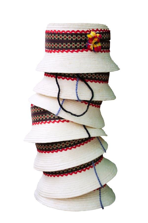Traditionele hoeden stock afbeelding