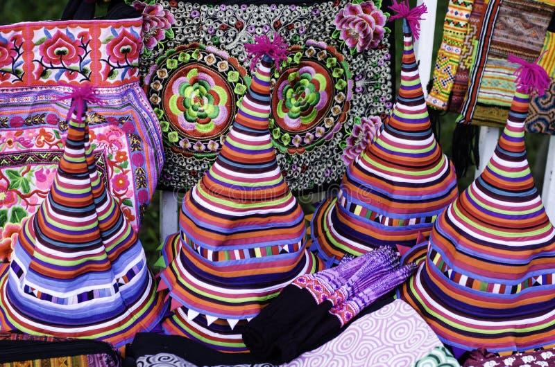 Traditionele Hoeden in Chiang Mai royalty-vrije stock foto