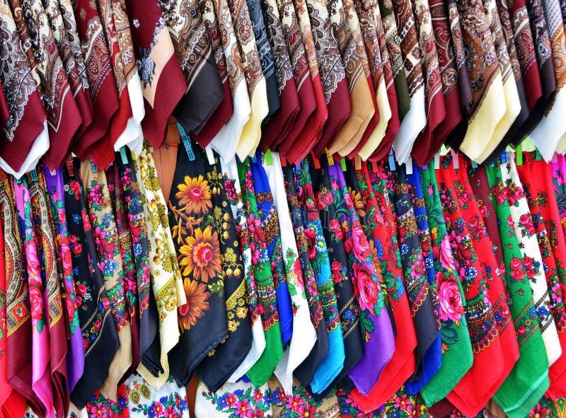 Traditionele hoofddoeken stock afbeeldingen
