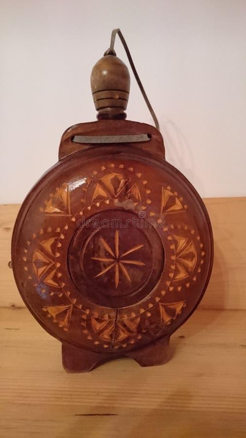 Traditionele houten Watercontainer royalty-vrije stock foto's