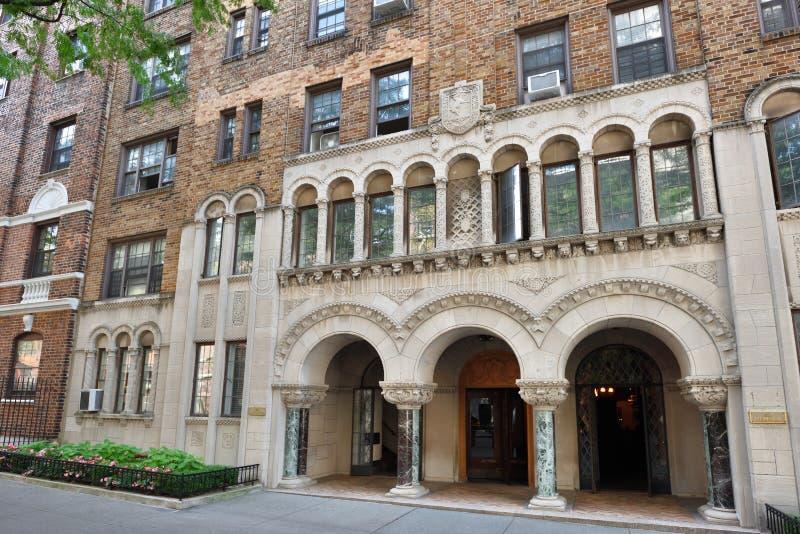 Traditionele huizen in de Hoogten van Brooklyn royalty-vrije stock foto's